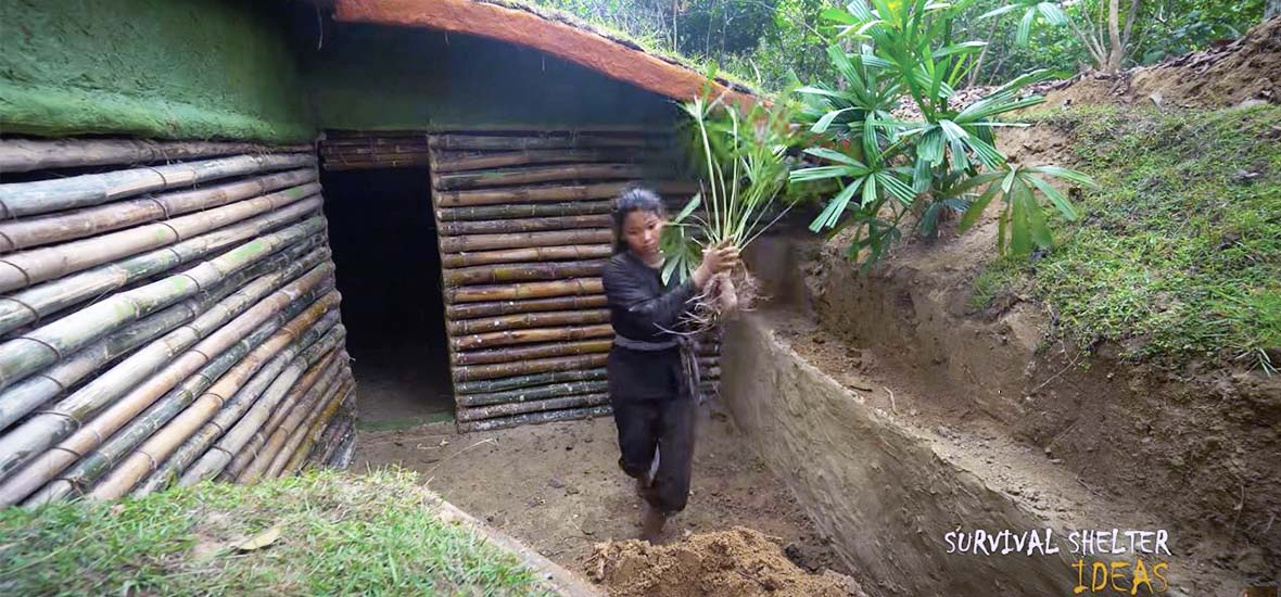 Survival Shelter Ideas on YouTube