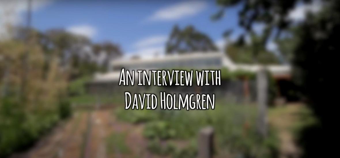 David Holmgren: A Permaculture, Energy Descent & Future Scenarios